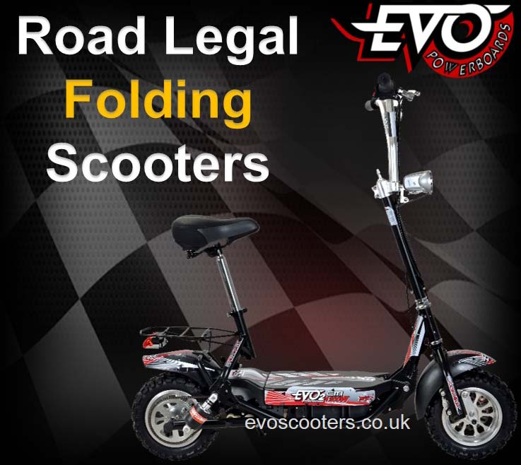 Road Legal Folding Scooters