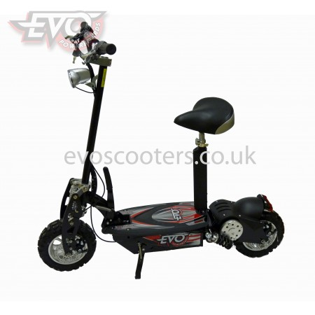 "1000W 36V EVO Powerboards electric scooter LiMn battery, 12"" tyres C858"