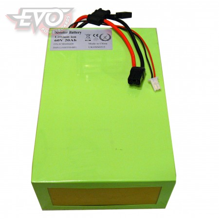 Lithium battery 60V 20Ah