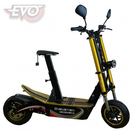 EvoMotion Powerboards Bossman-S 1800W  road-legal electric scooter
