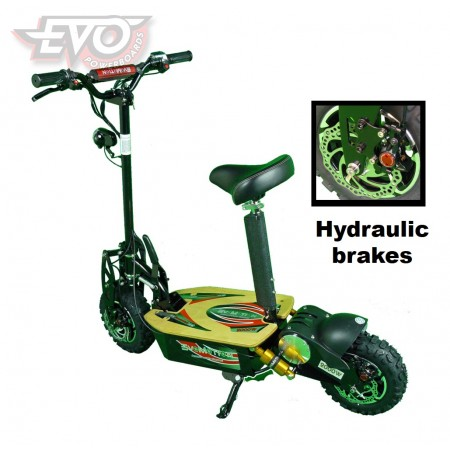 EvoMotion Powerboards electric scooter 60V 2000W - Hydraulic brakes
