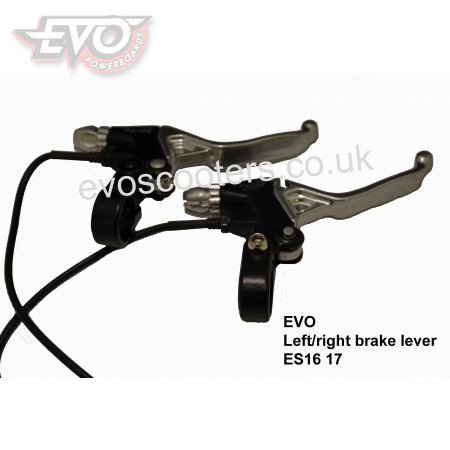 Left/right brake lever