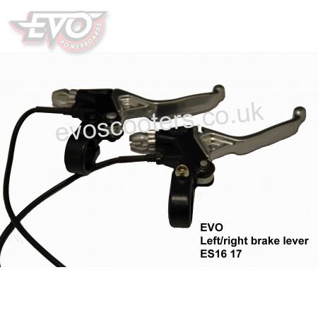 Left/right brake lever