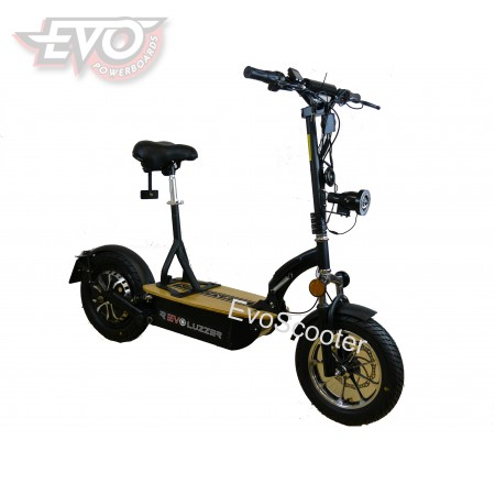 EvoMotion Powerboards Revoluzzer 1200W hub motor road-legal electric scooter