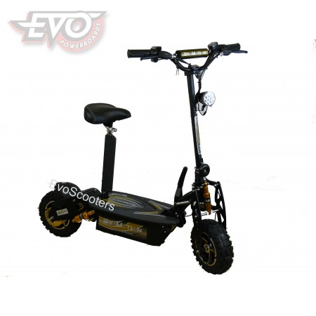 EvoMotion Powerboards folding electric scooter 48V 1800W Special Edition Gold