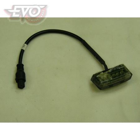 Rear Light EvoMotion 12V Road Legal Plug In