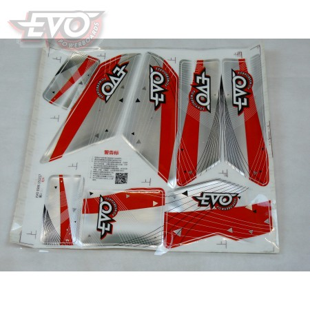 Sticker Set For Evo Scooters ES06