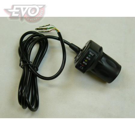 Twistgrip Evo 36V No Switch
