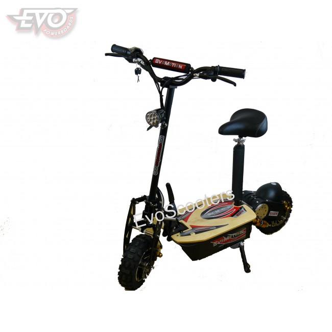 evomotion powerboards folding electric scooter 60v 2000w. Black Bedroom Furniture Sets. Home Design Ideas