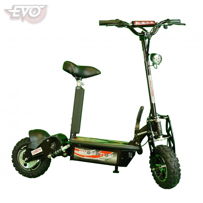 1000W EvoMotion Powerboards Electric Scooter 36V Big wheel