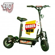 1000W 36V EvoMotion Powerboards Electric Scooter big wheel all terrain tyres