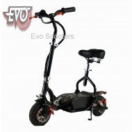 EvoMotion Powerboards electric scooter 300SX LED lights, seat, compact, lightweight