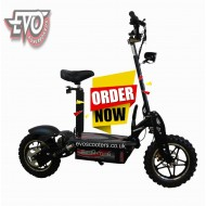 EvoMotion Powerboards DirtKing 48V 1800W lithium - The Big Wheel of the Range!