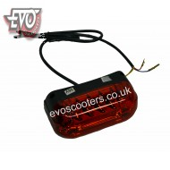 Front/rear light with holder