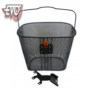 Basket and bracket for EvoKing electric scooter