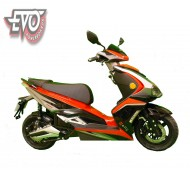 EvoMotion E-F11 electric moped 3000W hub motor Lithium
